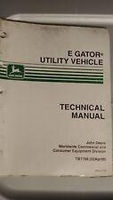 John Deere E Gator Utility Vehicle Tm1766 Technical Manual