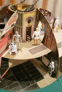 VINTAGE PALITOY 1977 STAR WARS DEATH STAR PLAYSET COMPLETE LOVELY CONDITION