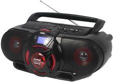 New Bluetooth MP3 Disc CD Player Cassette AM/FM Boombox Subwoofer USB AUX Remote