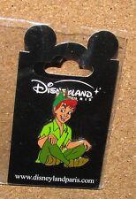Disney Pin Peter Pan  Paris Disneyland rare new sealed