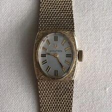 Vintage Bulova Accutron Women's Wristwatch 10K Gold Filled 1940s Budd Company