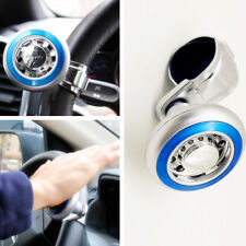 Blue Quick Steering Wheel ball Suicide Knob Power Spinner for Car Boat Marine
