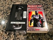 Robo Cop The Series The Future Of Law Enforcement VHS! Rare 1994Orion Home Video