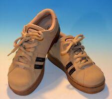 Vtg Guess Sport Sneakers Tennis Shoes Women 6.5 Suede Tan Logo Athletic