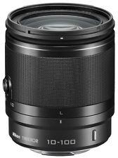 Zoomobjektiv NIKON 1 VR 10-100/4.0-5.6 schwarz für f. NIKON 1 V3, V2, J5 u.v.a.