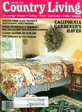 1994 Country Living Magazine: California Gardener's Haven/Chez Panisse Recipes
