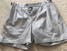 leather shorts women