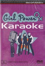 GIRL POWER KARAOKE, All Saints, Spice Girls, Christina Aguilera, Bargain NEW