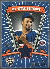 Johan Santana 2005 Topps Update All-Star Stitches C Card# ASR-JS