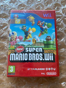 BRAND NEW SEALED NEW SUPER MARIO BROS FOR NINTENDO Wii
