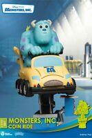 Disney Coin Ride Series D-Stage PVC Diorama Monsters Inc.16 CM Beast Kingdom