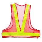 Colours High Viz Hi Vis Visibility Vest Safety Waistcoat Jacket See Through Mesh
