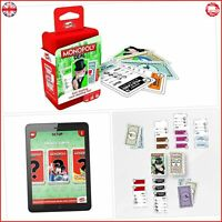 Shuffle Monopoly Deal Card Game Travel Family Free And Fast Delivery Brand New