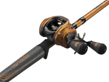 Lew's Mach Crush SLP Baitcast Combo 7' Medium Heavy Rod w/ 7.5:1 Right Hand Reel