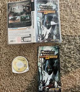 Monster Hunter Freedom Unite (Sony PSP, 2009) Complete Tested