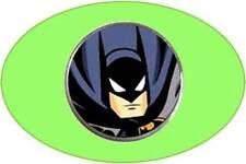 anneys - golf ball marker -  **BATMAN** - blue.