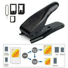 3-in-1 SIM Card Cutter Precise Fit and Correct Cutting Micro/ Nano SIM Card bx