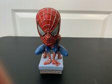 2002 NECA Marvel Spider-Man Head Knocker Bobble Head Figure Loose