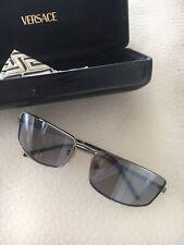 Vintage gianni versace sunglasses men Very Rare -Metal 90's