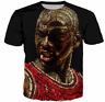 New Michael Jordan 3D T-Shirt Face King NBA Basketball Full Print Size XL - 7XL
