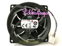 1PC Cooler Master 8025 FA08025M12LPD 12V 0.50A 4-wire 804057-001 Fan #M203A QL