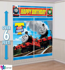 Thomas All Aboard Party Supplies SCENE SETTER Wall Decorating Kit