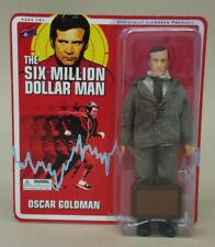 New - Six Million Dollar Man Oscar Goldman (2012) Action Figure - Bif Bang Pow