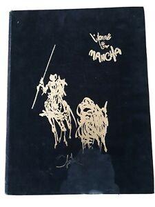 """Jacques BREL, illustration MORETTI numéroté  et signé """"L'HOMME de la MANCHA"""""""