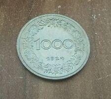 10 Groschen / 1000 Kronen  1924