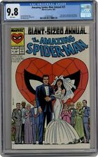 Amazing Spider-Man Annual #21A Direct CGC 9.8 1987 3779919009