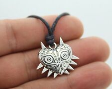 Majora Mask Pewter Legend of Zelda LUCK Pendant Necklace Pagan Wiccan Jewelry