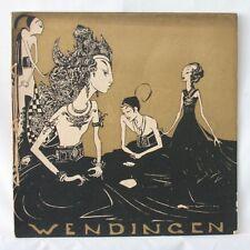 Wendingen art deco magazine 1928 no.5, Hindu Sculpture from Java, Indonesia