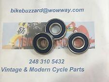 Yamaha MX360 DT360 MX DT 360 REAR Wheel bearings SET NEW!