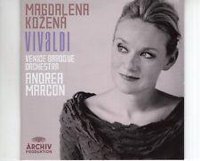 CD MAGDALENA KOZENA vivaldi ANDREA MARCON Venice Baroque orchestra EX+  (A2773)