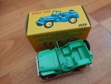 DINKY TOYS 25J CIVILIAN JEEP - NEW BOXED - ATLAS EDITIONS