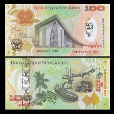 Papua New Guinea 100 Kina, 2008, P-37, 35th Anniversary Hybird, Banknote, UNC
