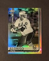 2019 Topps Chrome Negative Refractor Pete Alonso Rookie RC #204