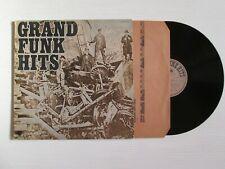 GRAND FUNK Hits LP ITALY PRESS CLASSIC HARD ROCK NO CD MC
