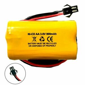 Unitech AA900MAH 3.6v Ni-CD Battery Replacement for Emergency / Exit Light
