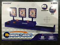 Suncoo Running Targets Electronic Scoring Auto Reset Digital Targets for Nerf