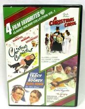 Classic Holiday Collection Boys Town A Christmas Carol Singing Nun DVD 4-Discs