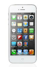 "Apple IPHONE 5 16GB 4 "" 8MP Ios Smartphone White - Acceptable Condition"