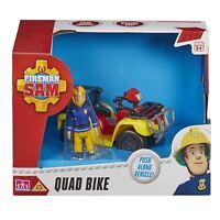 Fireman Sam Quad Bike Toy Play Kids