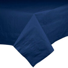DARK BLUE NAVY ANNIVERSARY BIRTHDAY 2x PARTY PAPER TABLECLOTH TABLE COVER!