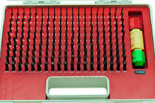 190pcs M1 .061-.250 STEEL PIN GAGE SET MINUS WITH NIST CERT.  45.48% OFF
