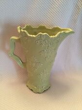 """New SWEET OLIVE DESIGNS 9"""" Green  PITCHER FANCY SCROLL COLLECTION BY JANE ADAMS"""