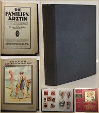 Müller Die Familien- Ärztin 1928 Medizin Nachschlagewerk Wissen Krankheit sf