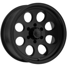 "4-Ion 171 16x8 6x5.5"" -5mm Matte Black Wheels Rims 16"" Inch"