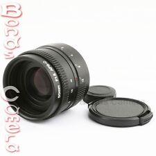 New 50mm f/1.8 C mount CCTV Lens for APS-C sensor camera M4/3 NEX FX EOSM N1 P/Q