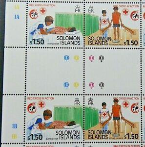 SOLOMON ISLANDS 1989 SG646 $1.50 ANNIVERSARY OF INTERNATIONAL RED CROSS  -  MNH